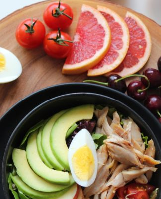 zdrowe jedzenie jajka ryba warzywa owoce