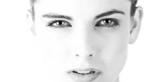twarz kobiety dojrzałej